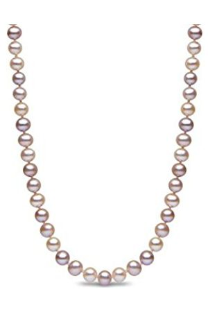 Necklaces - 9 ct 4.5 mm Natural Multicolour Semi Round Cultured Freshwater Pearl Necklace of 16-inch