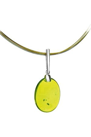 Nature d'Ambre 3160908 Women's Pendant Sterling Silver 925 / 1000 and Amber