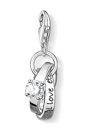 Thomas Sabo Women-Charm Pendant Cocktail Charm Club 925 Sterling Silver 18k yellow gold blue red 1039-427-1 Hxfg5vhyC