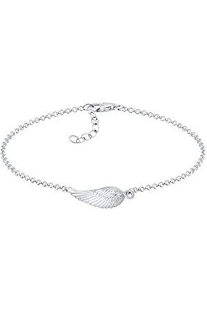 Elli Women's 925 Sterling Genuine Jewellery Wristwear Link and Chain Bracelets of Length 18 cm