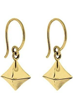 Women Earrings - 22k Plated Almaz Diamond Drop Earring