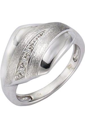 Women Rings - Diamonds 340270014-0-Women's Ring Sterling Silver 925/1000 1 g Toughened Carat Diamond