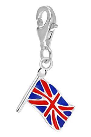 Tuscany Silver Sterling Enamel British Flag Charm