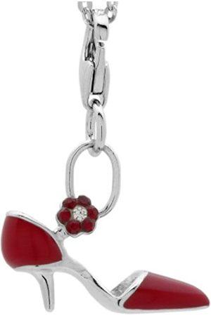 Women Bracelets - Women's Charm bracelet from Heel Red jcm 1081–629 925 Sterling Silver Rhodium Plated jcm 1081–628