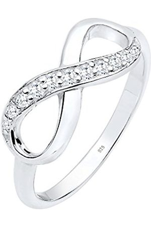 Women Rings - Women's 925 Sterling Silver Infinity Zirconia Ring - Size M