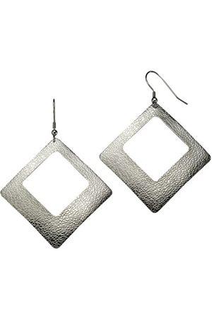 Women Earrings - Zeeme 389030032Women'sHookEarringsStructuredStainlessSteel