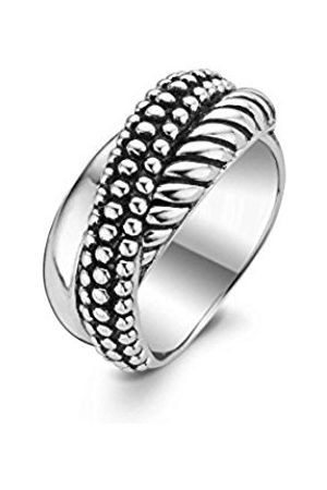 Ti Sento Milano Rhodium Plated Sterling Ring-1973SB/56 - Size O