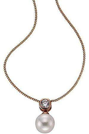 Women Necklaces - Zeeme Women silver Zirconium oxide FINENECKLACEBRACELETANKLET