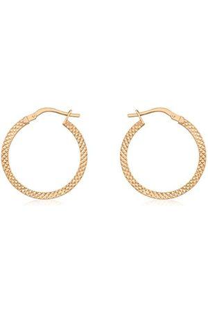 Women Earrings - Carissima Gold Women's 20 mm 9ct Earring