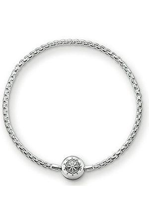 Women Bracelets - Thomas Sabo Women Men-Bracelet Karma Beads 925 Sterling Length 15 cm KA0001-001-12-L16