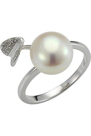 Women Rings - Women 9 k (375) Silver Freshwater Cultured Zircon Rings