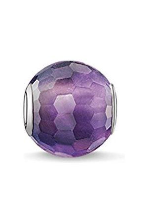 Women Jewellery - Thomas Sabo Women-Bead Karma Beads 925 Sterling Amethyst violet K0089-163-13
