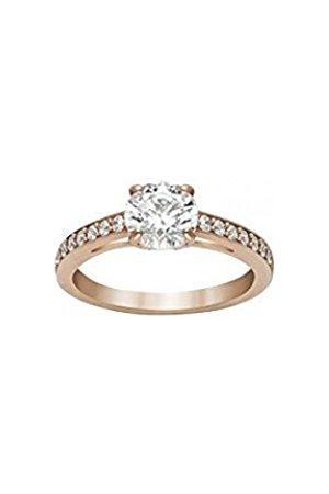 Women Rings - Swarovski Women's Ring Glass Transparent – 51 _ Band Ring