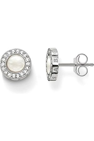 efbdccae6 Thomas Sabo Women-Earstuds Glam & Soul 925 Sterling silver Zirconia Pavé  Mother-of