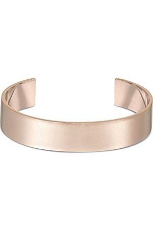 Men Bracelets - Men's Extra Large Plated Silver Small/Medium Cuff of 14.6 cm