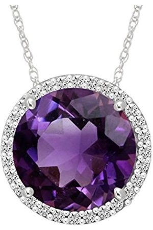 Women Necklaces - Sterling Silver Gemstone Pendant