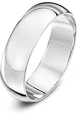 Rings - THEIA Unisex 14 ct, Super Heavy D Shape, Polished