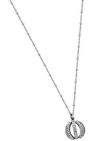 Women Bracelets - Lotus Style Women's Necklace with Pendant Stainless Steel Glass Transparent 54.5 cm – LS1749/1 WOMEN