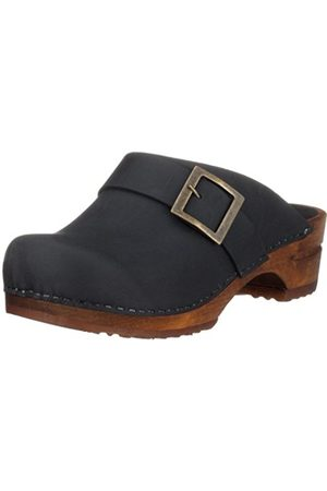 Women Clogs - Sanita Wood Urban Open, Women's Mules & Clogs