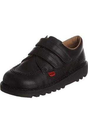 Boys School Shoes - Kickers Kick Lo Vel Boys' School Shoes