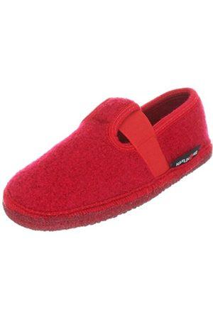 Girls Slippers - Haflinger Girls Slipper Joschi Slippers Rot (rubin 11) Size: 29
