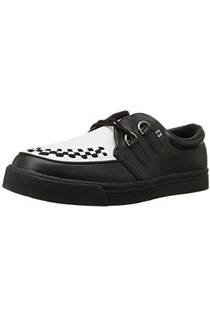 Brogues & Loafers - T.U.K. Unisex Adults' 2 Ring Creeper Trainers Size: 4 UK