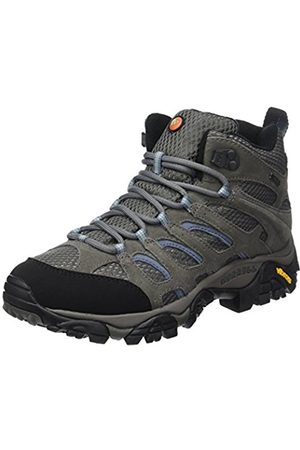 Women Lace-up Boots - Merrell Moab Mid Gore-Tex , Women's Lace-Up Trekking and Hiking Boots - /Periwinkle