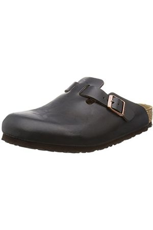 Clogs - Birkenstock Boston Leather, Unisex-Adults' Clogs