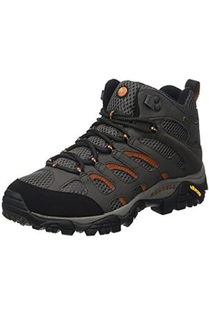 Women Lace-up Boots - Merrell Moab Mid Gore-Tex , Women's Lace-Up Trekking and Hiking Boots - Beluga