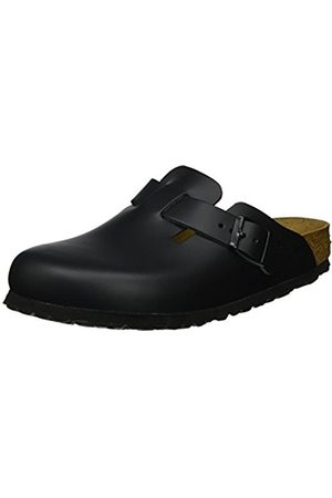 Clogs - Birkenstock Boston Smooth Leather, Unisex-Adults' Clogs