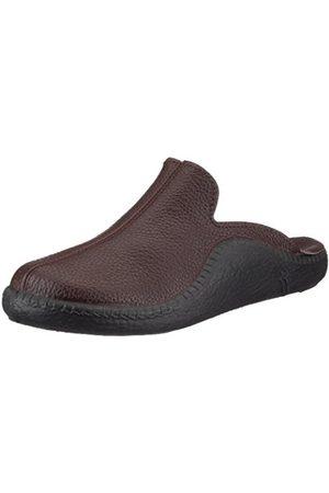 Men Slippers - Romika Mens Mokasso 202 G Slippers, - Braun/mokka