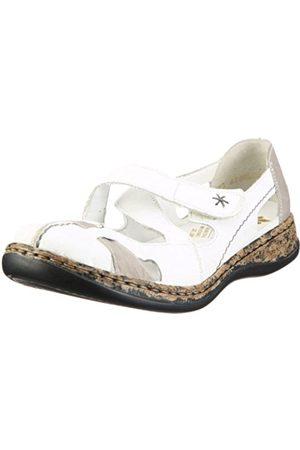 Women Sandals - Rieker Women's Daisy 46367-80 Ankle Strap 46367-80 4 UK