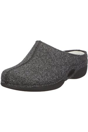 Women Slippers - Berkemann Lauren Slippers Womens Gray Grau (dunkelgrau) Size: 6.5 (40 EU)