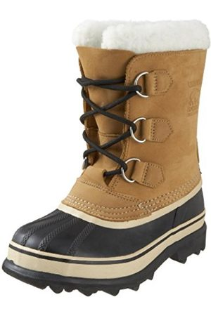 Snow Boots - sorel Youth Caribou, Unisex Kids Snow Boots, (Buff 281)