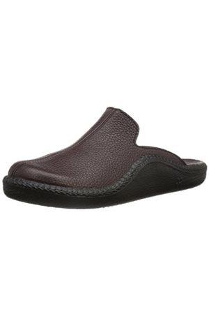 Men Slippers - Romika Mens Mokasso 202 G Slippers, - Rot (bordo 403)