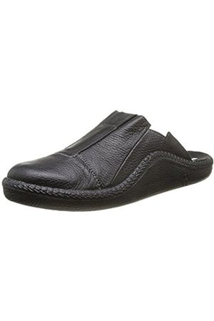 Men Slippers - Romika Mens Mokasso 288 Slippers Schwarz (schwarz 100) Size: 46 EU (11 Herren UK)