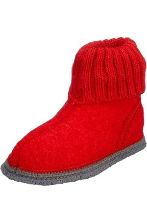 Slippers - Unisex - Child Ötzi Slippers Rot (Rubin 2826) Size: 35