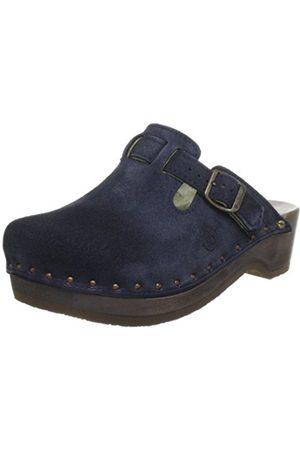 Clogs - Berkemann Unisex - Adult Riemen-Toeffler Clogs Blau (blau 396) 10.5 UK (451/3 EU)