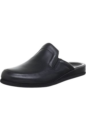 Men Slippers - Romika Mens Carlo 02 Slippers Schwarz (schwarz 100) Size: 42 EU (8 Herren UK)