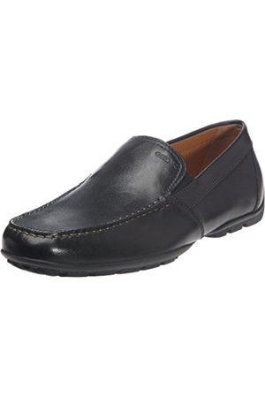 Men Brogues & Loafers - Geox U Monet V - Smooth Leather, Men's Mocassins