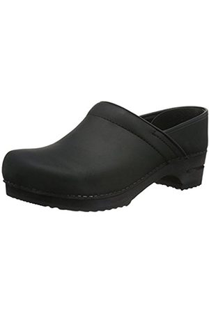 Men Clogs - Sanita Wood-Jamie closed Clogs And Mules Mens Size: 8 (42 EU)
