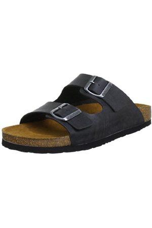 Men Sandals - Men's 600275 Mules Gray Size: 10