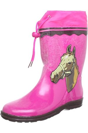 Girls Boots - Girls' Winner Rubber Boots Size: 12.5