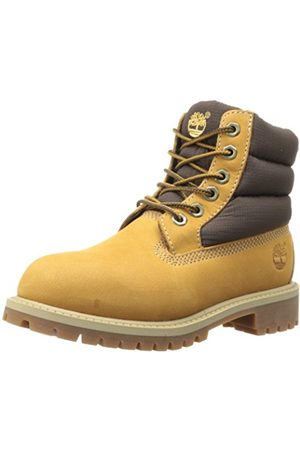Boots - Timberland Boys' 6in Quilt Bt Walking Baby Shoes yellow Size: 6 Child UK