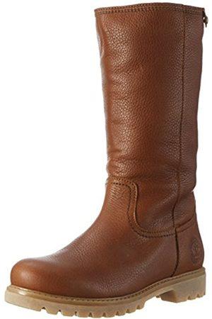 Women High Leg Boots - Panama Jack Women's Bambina B11 Warm Lined Slipper Boots Long Shaft Boots & Bootees Size: 4