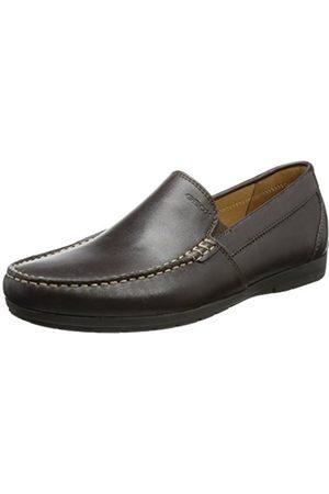 Men Brogues & Loafers - Geox U Simon C, Men's Mocassins, Brown (Brownc6000)