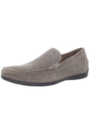 Men Brogues & Loafers - Geox U Simon A, Mens Loafer Flats, (C6029)