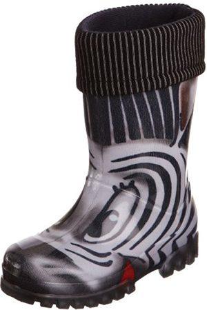 Boys Wellingtons - Warm Fleece-sock Zebra Wellies Wellingtons Boot 039s 13 Uk Junior