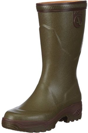 Boots - Aigle Unisex-Adult Parcours Bottilon Wellington Boots 84247 8 UK