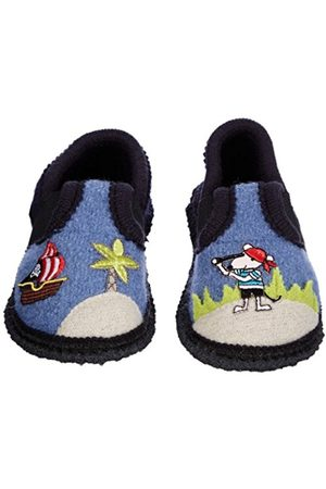 Boys Slippers - Pirat Low Boys Blau (blau) Size: 27/9 UK